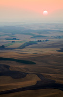 Sunset From Steptoe Butte, The Palouse (No. 134)