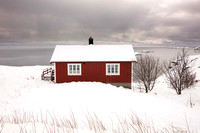 Red Hut near Hamnoy (No. 2563)