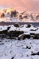 Sunrise VIew from Hamnoy 1 (No. 8070)