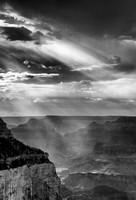 Storm and Lightrays From Shoshone Point (No. 345)