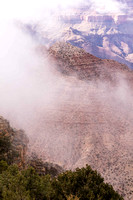 Fog at Desert View, Grand Canyon (No 7820)