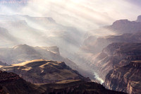 God Rays and Fog, View from Lipan Point (No. 8285)