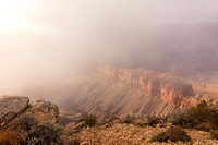 Fog, View from Lipan Point (No. 8446)