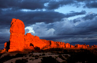 Rock on Fire, Arches National Park